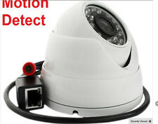POE IP ONVIF 1920x1080P 3.6mm 2MP 24 ARRAY IR Outdoor CCTV Security Dome Camera