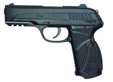 Gamo Pt-85 Blowback Air Pistol Gun Slide Mechanism 16 Pellets Double Magazine