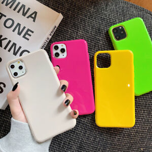 For Apple iPhone 11 Pro Max XR XS 7 8 SE Candy Silicone Case Gel TPU Soft Cover