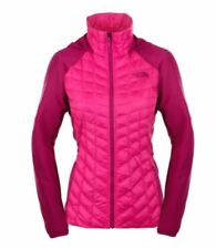 NEW!!! The North Face Women's Thermoball Hybrid Jacket (Glow Pink/Fuchsia, M)
