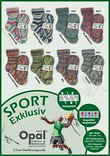 8 x 100 gr. Sockenwolle/Strumpfwolle Opal Sport Exklusiv  !!! Top Neuheit !!