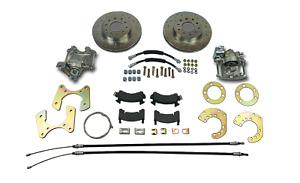 Chrysler Mopar  8-3/4 Dana 60 rear disc brake conversion drilled rotors