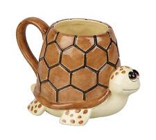 Novelty Shaped Handle Ceramic Mug - Turtle Animal Ravensden