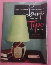 BU270 How To Make A Lamp With Tipo Bottle Book