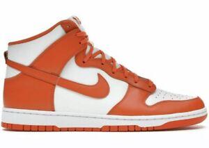 Nike Dunk High Retro Syracuse Orange Blaze - Mens Size 11.5 (DD1399-101) - NIB