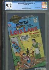 MILLENNIUM EDITION SHOWCASE 9 SUPERMAN'S GIRL FRIEND LOIS LANE CGC NM MINUS 9.2