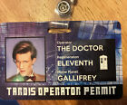DOCTOR WHO - 11th Doctor Matt Smith cosplay I.D. Badge