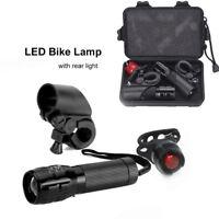 TORCIA TATTICA CREE LED Q5 7W / 450 LUMENS MAX  BICI ZOOM LUCI Bicicletta luce