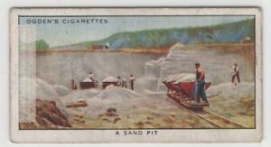 Sand Mining Pit Leighton Buzzard Bedfordshire England 80+ Y/O Trade Ad Card