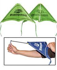 Kids Paragliding Flying Hang Glider Toy Set Launch Catapult Slingshot Outdoor