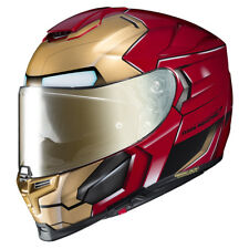 HJC X MARVEL Iron Man RPHA 70 ST Motorcycle Helmet - Red/Gold Size Large