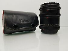 Vivitar Automatic Extension Tube Set AT-4 For Canon FL-FD Mount 12, 20 & 36mm