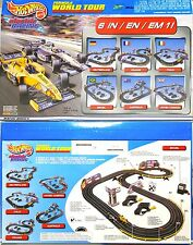 2000 TYCO 440-X2 Slot Car FORMULA WORLD TOUR 12' RACE SET BUZZIN Honda & McLaren