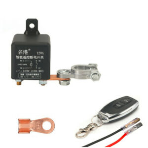 120A Car Battery Isolator Switch Disconnect Power Cut Off Kill Fit For SUV Truck