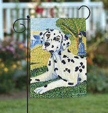 New Toland - Grrraut Dalmation - Puppy Dog Portrait Garden Flag