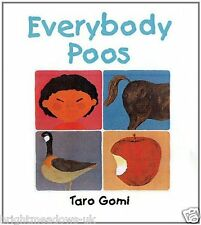Everybody Poos Childrens Book Kids Story Fun Gift Ages 2 3 4 5 Years Funny Potty