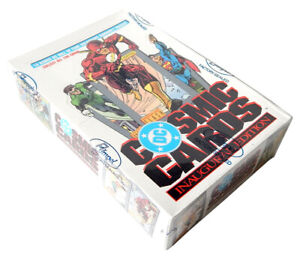 1991 Impel DC Comics Cosmic Cards Box (36 Packs) Factory Sealed