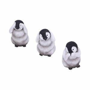 Three Wise Penguins Figurines