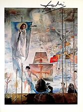 SALVADOR DALI HAND SIGNED * THE DISCOVERY OF AMERICA BY... *  COLORPLATE