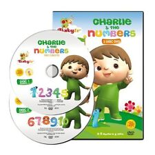 BabyTV Charlie  the Numbers 2 Disc DVD Film  TV