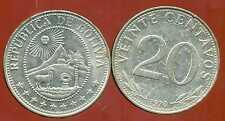 BOLIVIE   20 centavos 1970