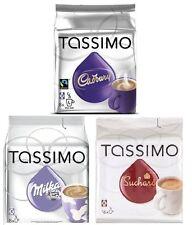 Tassimo T Discos vainas: Chocolate Caliente Pack-Milka, Cadbury, Suchard 32 Vainas