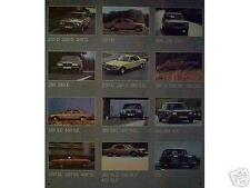 Älteres Blechschild Mercedes Benz Produkt_palette Reklame Werbung gebraucht used
