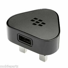 Genuine Blackberry Micro USB Mains Plug for Bold Curve Q10 Classic Priv Passport