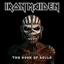 IRON MAIDEN THE BOOK OF SOULS 2 CD 2015 (JEWEL CASE)