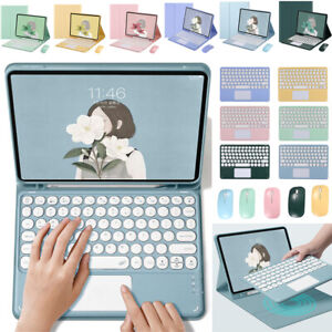 """Keyboard With Touchpad Case Cover For iPad 5th 6th 7th 8th Gen 10.2"""" Air Pro 11"""