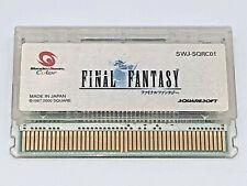 Final Fantasy I 1 Bandai WonderSwan Color 2000 classic handheld RPG Squaresoft