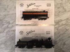 Spectrum H O Cass Scenic Railroad Locomotive & H O Water Tender N & W