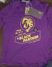 NWT Marvel Comics Black Panther long sleeve womens tshirt size 165/84a retro art