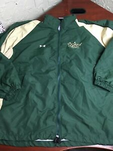 Under Armour University of South Florida BIG MENS 3XL USF Bulls Full Zip Jacket