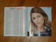 Magazine Fémina - Sofia COPPOLA