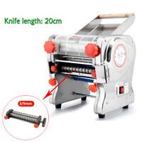 750W Electric Pasta Press Maker Noodle Machine Dumpling Commercial Home Use 20CM