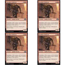 4 x KRENKO'S ENFORCER NM mtg M15 Red - Goblin Warrior Com