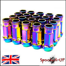 BLOX FORGED ALLOY WHEEL TUNER LUG NUTS 52MM M12x1.25 fits NISSAN SUZUKI