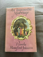 "1954 1ST EDITION ""AN IMPOSSIBLE MARRIAGE"" FICTION HARDBACK BOOK"