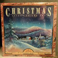 "HALLMARK CHRISTMAS Listen To The Joy Compilation - 12"" Vinyl Record LP - SEALED"