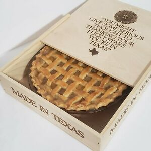 Made in Texas Pride Wooden Gift Box Keepsake Storage Trinket Storage Lone Star