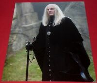 JASON ISAACS SIGNED HARRY POTTER SINNISTER LUCIUS STILL 8X10 PHOTO AUTOGRAPH COA
