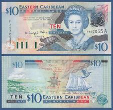 EAST CARIBBEAN STATES / Antigua 10 Dollars (2003) UNC P. 43a