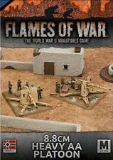 Flames of War - WW II Game - Afrika Korps 8.8cm Heavy AA Platoon