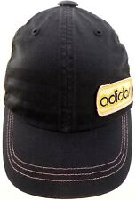 VTG Adidas 100% Cotton Snapback Truckers Cap One Size GC Free Shipping!!!