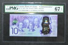 Canada - $10 Dollars - 2017 - Commemorative - PMG - SUPERB GEM UNC 67 - EPQ