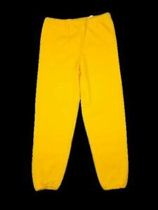 Russell Athletic Dri-Power Closed Bottom Sweatpants - Adult Large - Gold