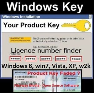 Product code serial number finder software for Windows - 1st class postage