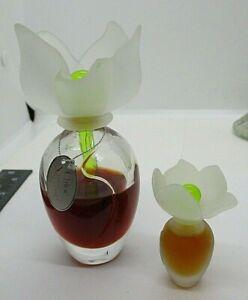 Vintage CHLOE NARCISSE Eau De Cologne Spray & Miniature Perfume Glass Dabber Top