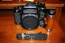 Asahi Pentax 6x7 TTL Prism with MLU, Strap and Grip Body